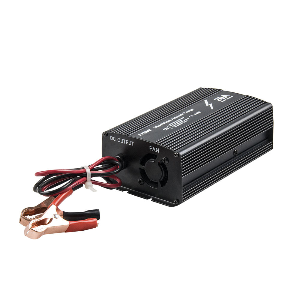 JYINS 12 volt 20A portable battery charger
