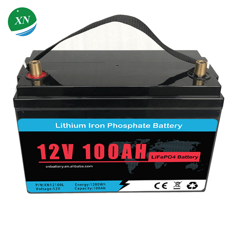 BMS 12v 24v 36v 48v 50ah 100ah 200ah 300ah LiFePO4 battery pack rechargeable lithium ion batterie for electric vehicles