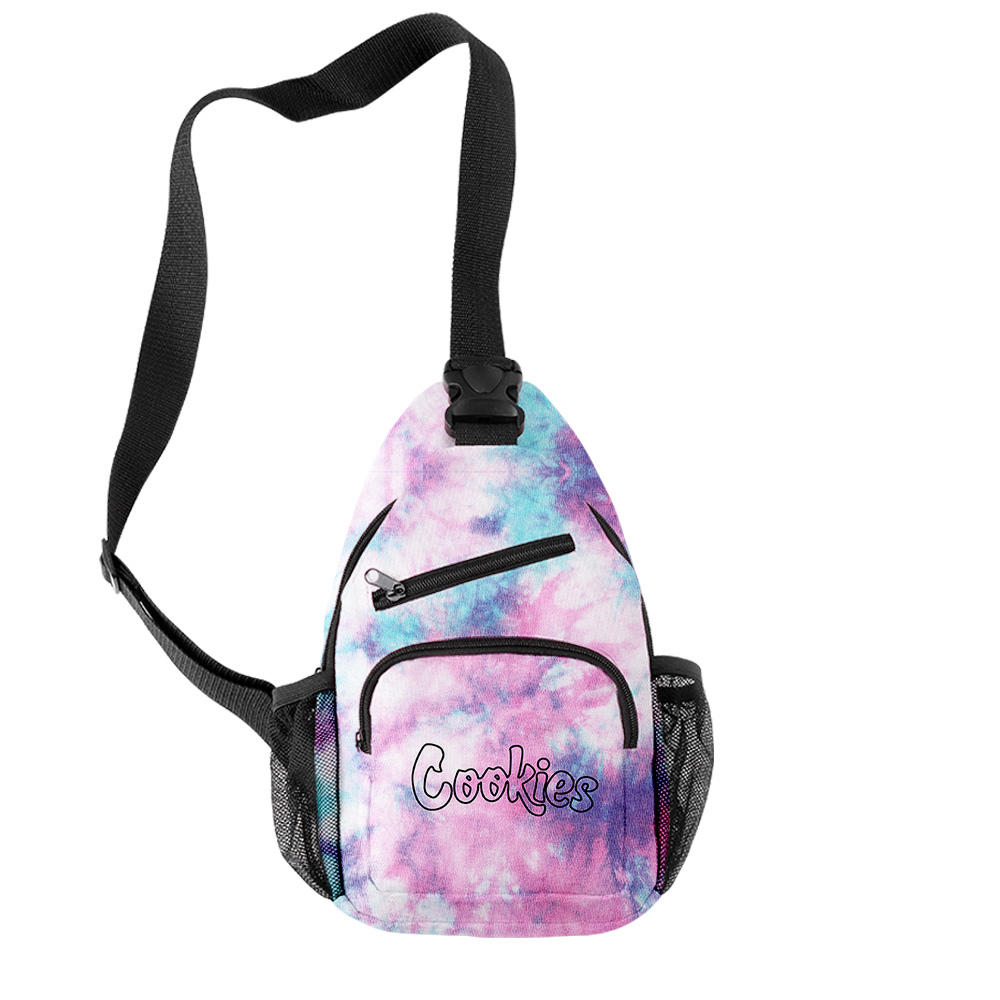 Custom Unisex Durable Casual Outdoor New Fashion Cookies Triangle Single Strap Backpacks