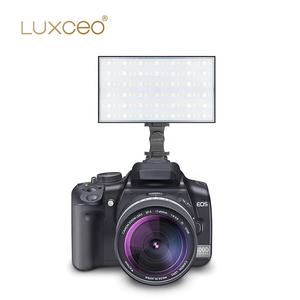 Luxceo P03 Penuh Output Warna 2500K-6500K 7.4V 3200 MAh Fotografi Lampu RGB Lampu Video Panel youTube Studio Pencahayaan