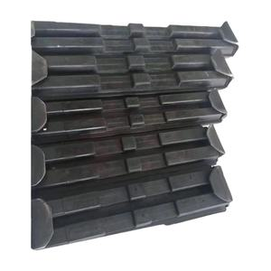 Agricultural Snowblower Chassis Rubber Crawler Track Skid Steer Loader Mini Excavator Undercarriage Small Rubber Track Pads