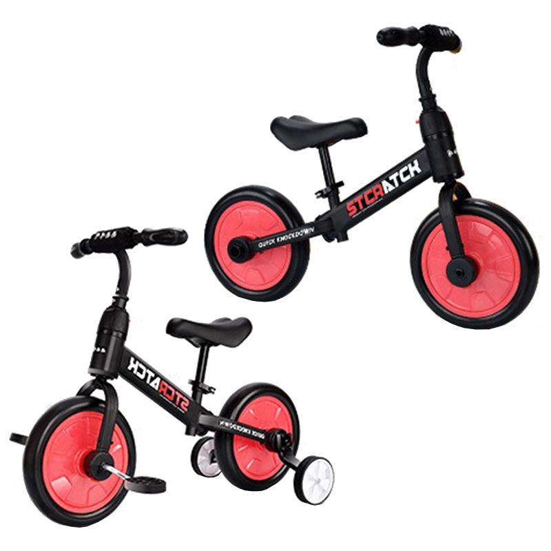 2 to 6 years old 3 in 1 balancing bike to children scooter tricycle foldable pedal children tricycle kids