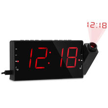 Bedside Wake Up Digital Mirror Led table clock for Bedroom, Kitchen, Kids