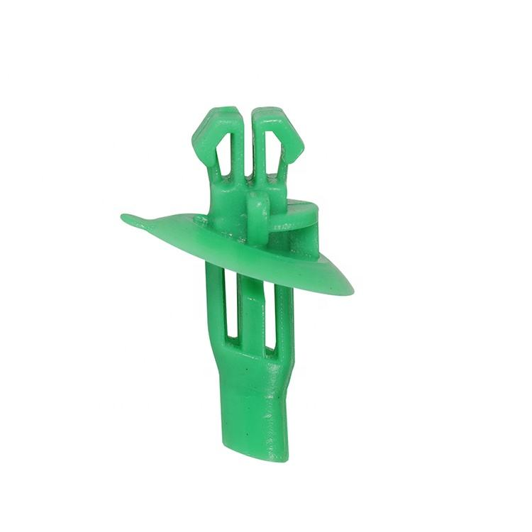 Groene Fixing Clips Voor Toyota Blad Platen, Automotive Plastic Fasteners, Fixing Clips