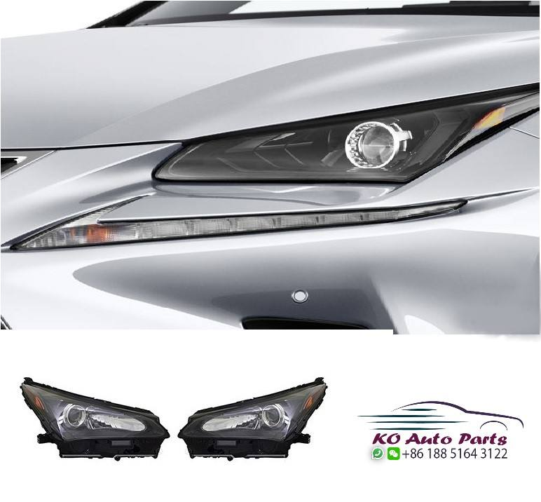Front headlights headlamps for lexus NX Nx200 2014 2015 2016 2017 AWD sport model edition limited