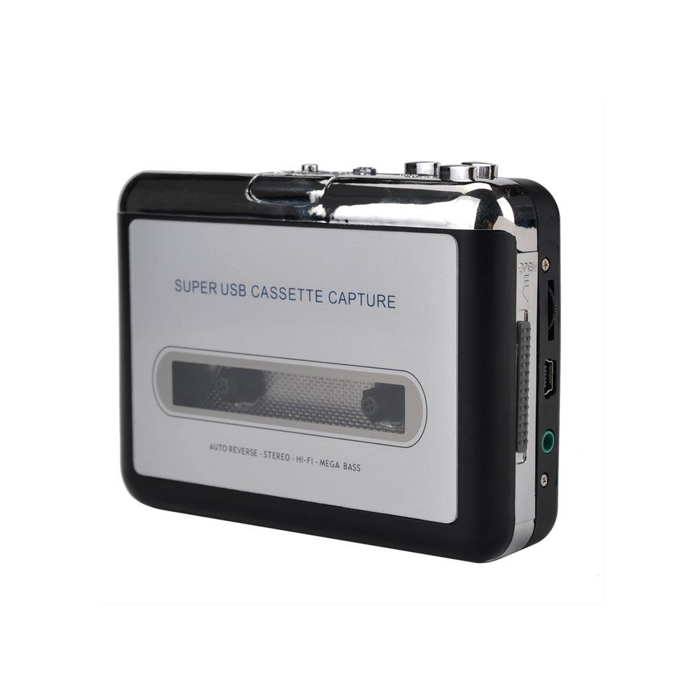 Aomago Super USB Cassette Capture Converter 12 Speed Tape Recorder Cassette Player