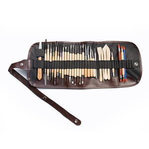 Arts Crafts 30pcs Clay Sculpting Tools Pottery Carving Tool Set Pottery & Ceramics Wooden Handle Modeling Clay Tools