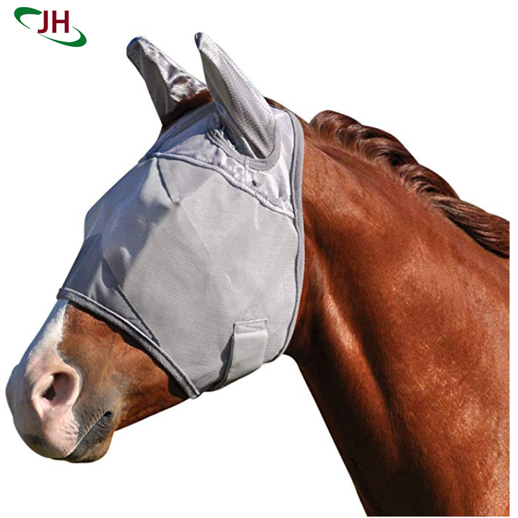 New Product Standard Horse Fly Mask With O Ears