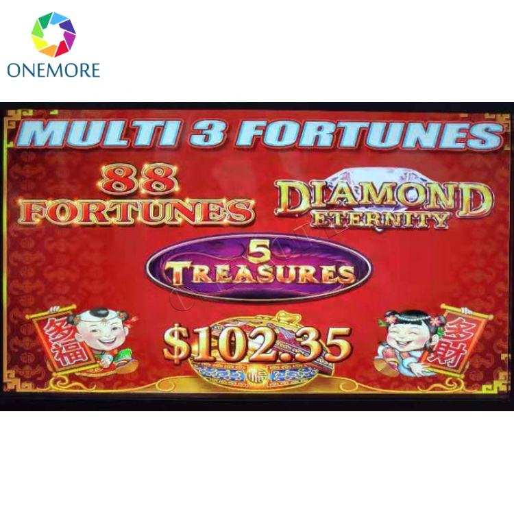 New arrival 88 Fortunes 3 in 1 slot game board