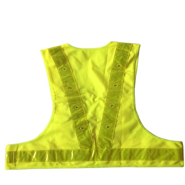 High Visibility 3M Reflective Safety Jacket With 100% Polyester