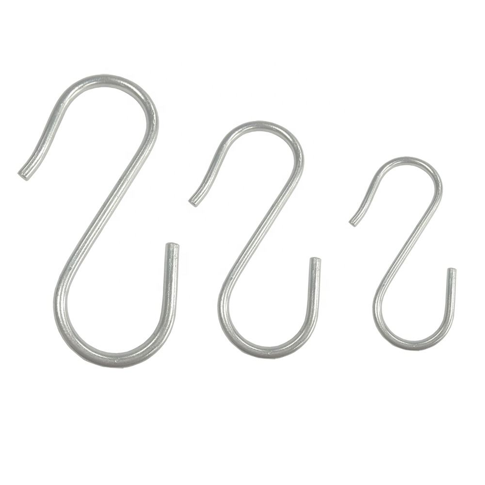 Alibaba China Manufacture stainless steel s hooks