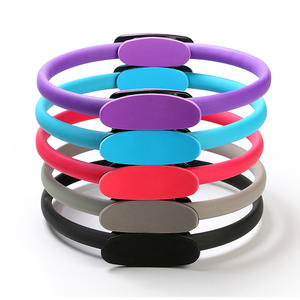 Hampool Wheel Train Circle Resistance Rubber Sports Exercise Pilates Yoga Rings