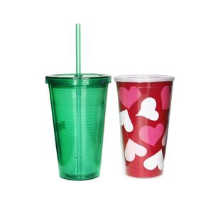 empty 10oz-30oz Party Used Water Induction Flashing Plastic Cup