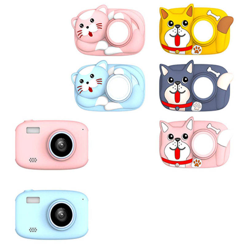 Latest 2600W Pixels Child Children's Digital Dual Camera For Kids Educational Toys Hot Selling UK Australia Walmart Amazon