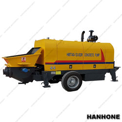 DIESEL ENGINE TYPE CONCRETE PUMPING MACHINE CONCRETE DELIVERY PUMP WITH HYDRAULIC CYLINDER