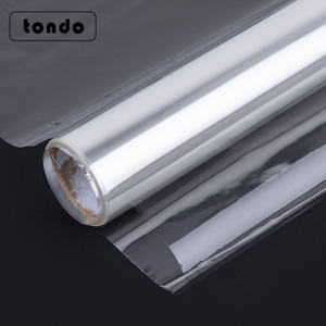 Tondo 4.7Mil Thick Gift Packaging Flower Wrapping film Clear Cellophane Roll For Gifts Baskets Wrap