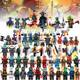 Hot Sale Super Heroes Kai Jay Cole Zane Nya Lloyd With Weapons Action Mini Figures Ninjagoings Building Blocks Toys for Children