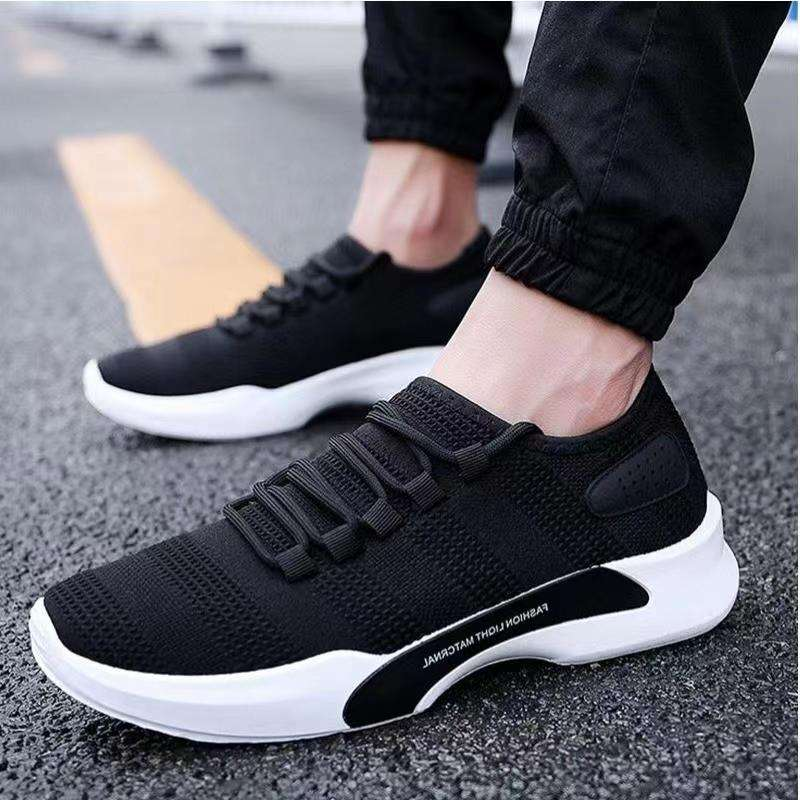 Fashion men's sneakers shoes made in china cheap injection sports shoes