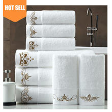 "Wholesale Luxury face hand towel White Hotel Spa Bath Towel 100% Genuine Cotton, 27"" x 54"""