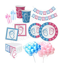 Kids Party Supplies Gender Reveal Baby Shower Party Supplies Gender Reveal Party Supplies