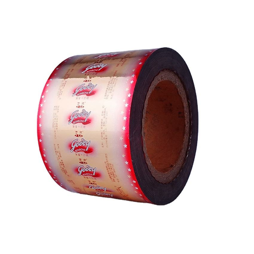 pet/vmpet/pe laminated roll film printed packaging