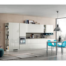 free shipping free design Hangzhou factory latest design lacquer kitchen cabinet