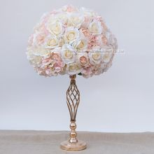 LFB634 bulk marriage decoration artificial flowers centerpieces blush white