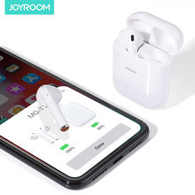 JOYROOM Open window pairing TWS blue tooth 5.0 wholesale earphone charging case wireless earbuds set