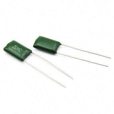 100pcs 2A332J 100V 0.0033uF 3.3nF Polyester Film Capacitors