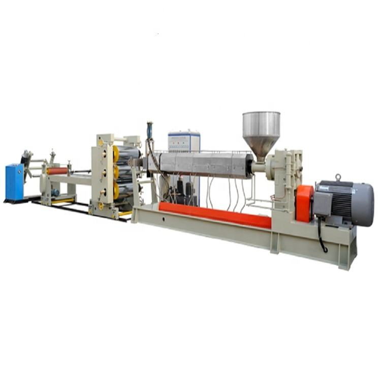 High efficiencyPVC PET PS PP Single-layer PP Sheet Extrusion Line machine