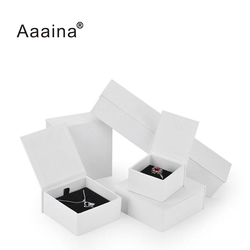 Manufacturers Biodegradable Earring Jewelry Boxes Magnetic Closure Jewelry Boxes