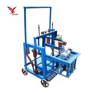 QMY2-40 egg laying concrete block making machine used brick making machine for sale