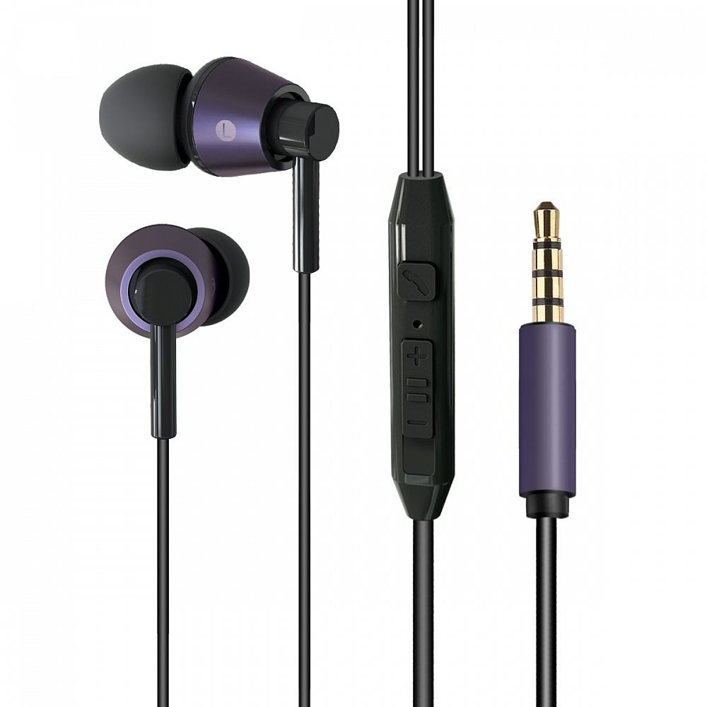 Crown wired mobile earphones with near mic CME-254