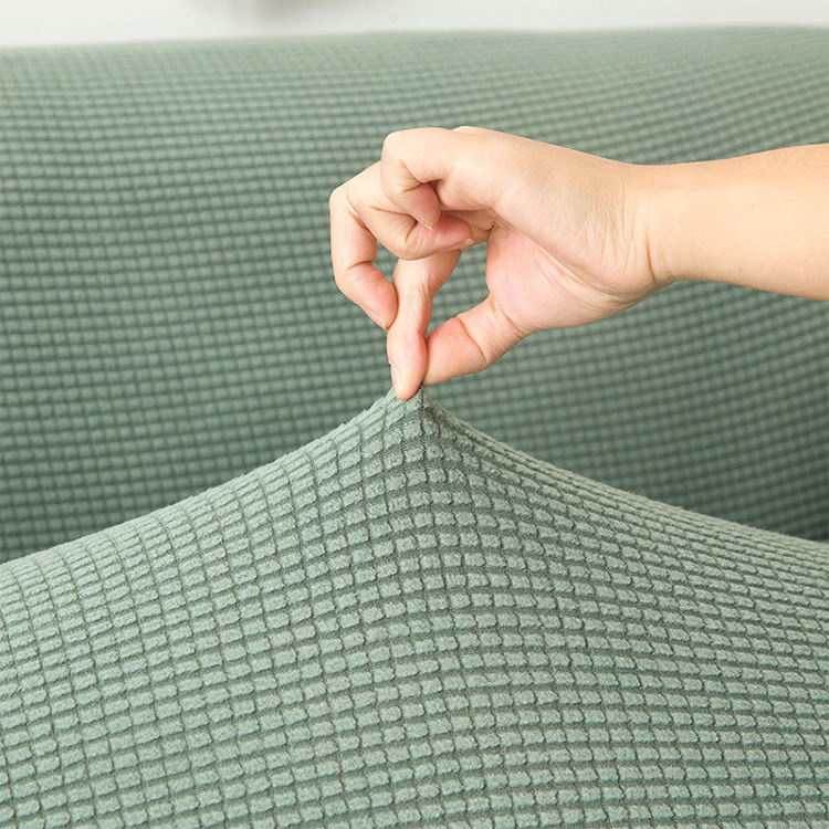 High Stretch Elastic Sofa Cover, 10 Colors In Stock Sofa Cover Slipcover, Jacquard Sofa Cover Stretch
