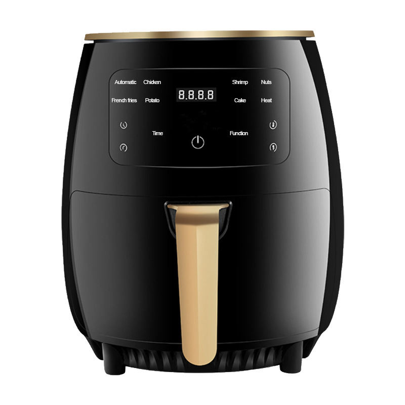 Multifunctional 4.5L 1400W Hot Oven Oilless Cooker Electric Air Fryer With Nonstick Basket