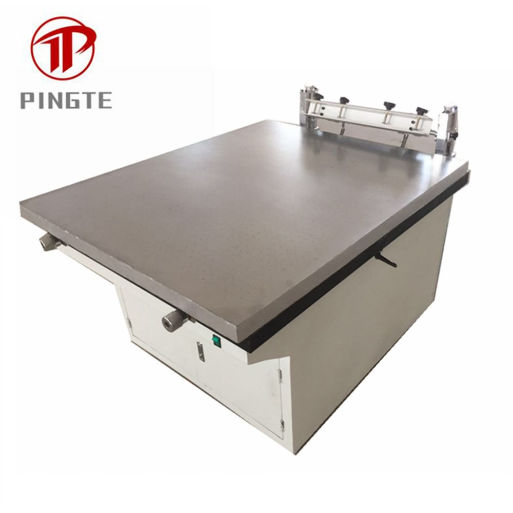 Manual Screen Printing machine price with suction table