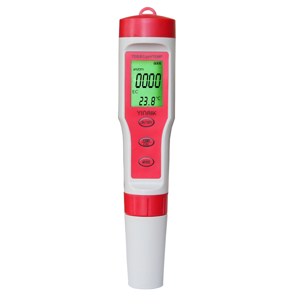 2020 hot selling mini PH TDS EC ph meter and conductivity meter ph multifunctional digital waterproof for water quality tester