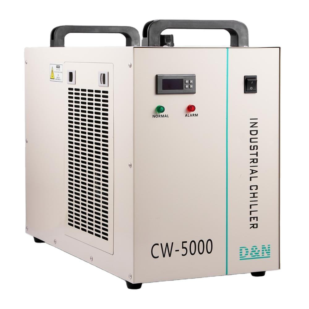 Sihao CW-5000DG Industrial Water Chiller for 80/100W CO2 Laser Tube Cooler