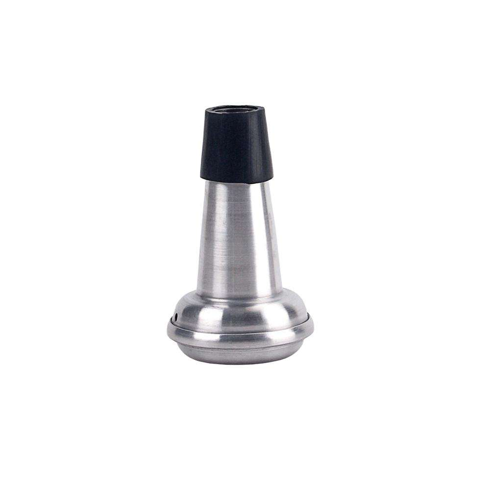 Lightweight Trumpet Aluminum Mute Sordino Straight Practice Mute For Trumpet Brasses Musical Instrument Parts Accessories