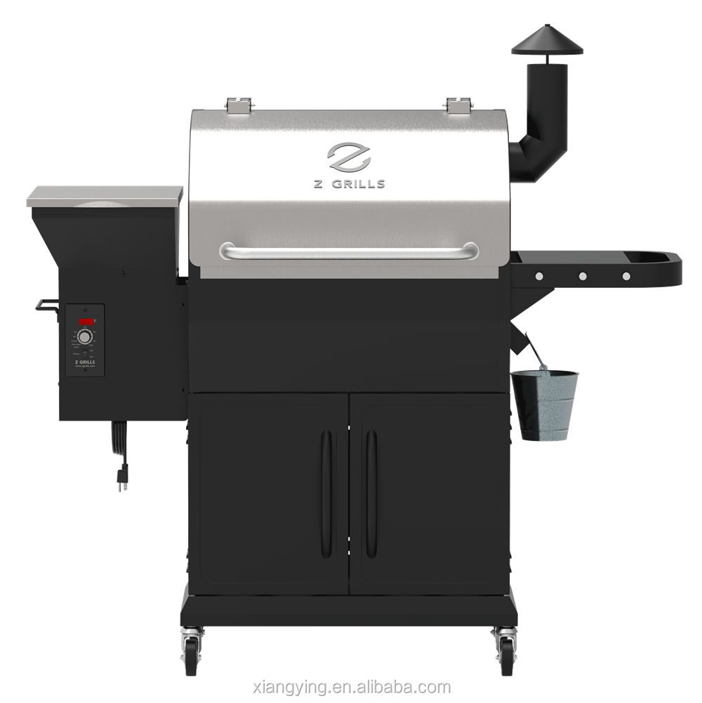 Z Grills Wood Pellet Grill Smoke with digital Control