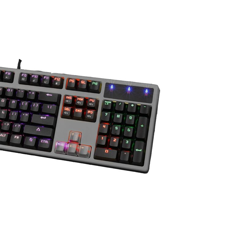 Fábrica china de pc gamer amd 7th ordnater diferente color grande carta impresión teclado para eyesights bst-008