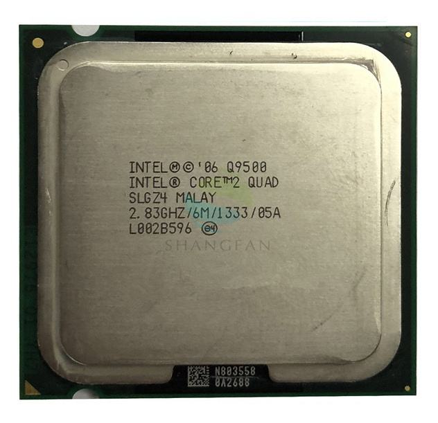 For Intel Core 2 Quad Q9500 2.8 GHz Quad-Core CPU Processor 6M 95W LGA 775