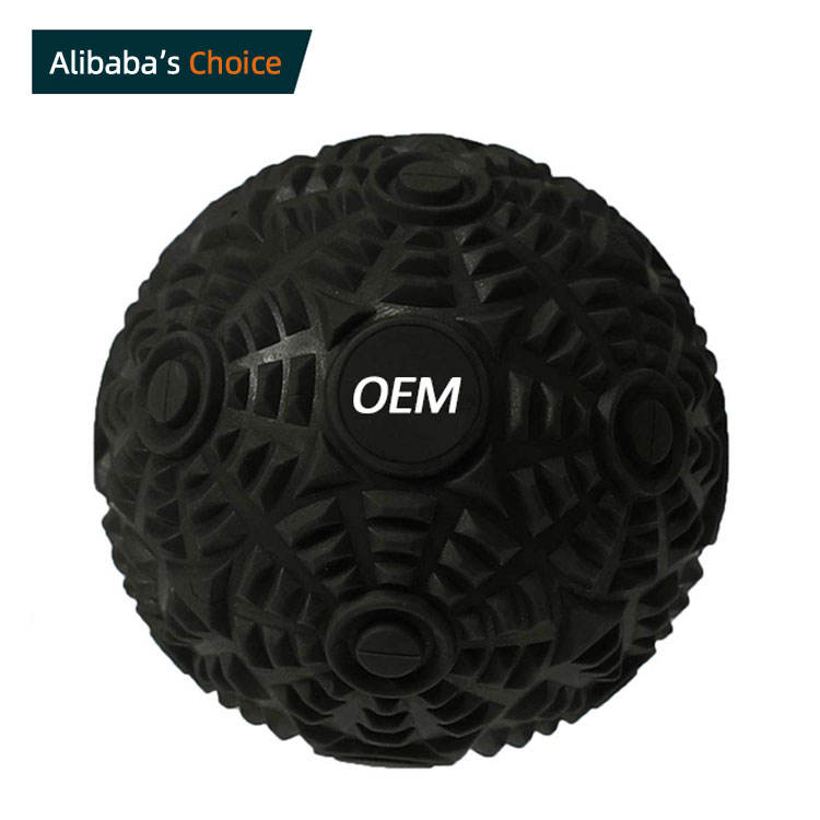 Gym rubber custom logo big triggers point physical therapy massage ball