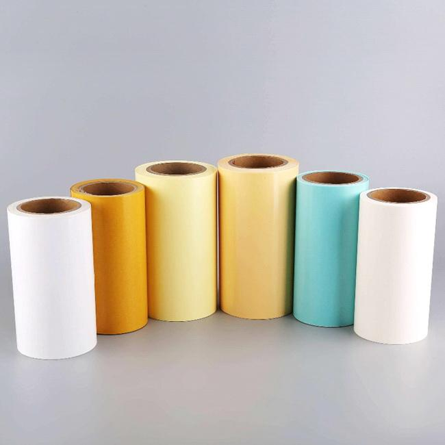 Wholesale Glassine Roll Single side Silicone Coated Paper Release Paper