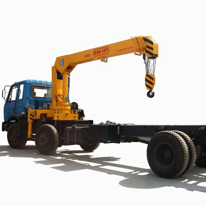Competitive price 8 ton truck mounted crane, japan used truck mini crane machine for sale SQ8SA3