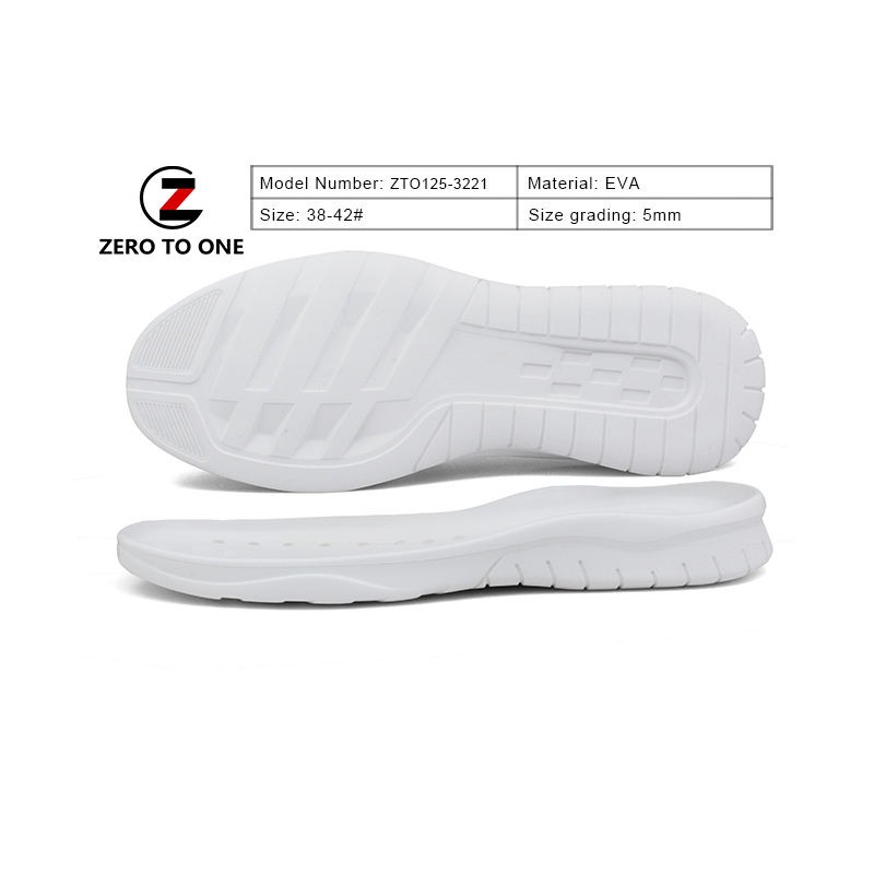 Wholesale Custom Brand Sport Sneaker Shoes Men Athletic EVA Soles Made In China Comfort Lightweight Sport Shoes Outsole