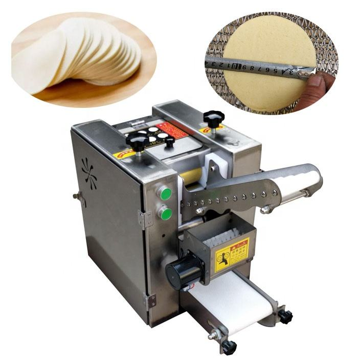 9/12/18/32Cm Size Automatische Roti Chapati Maker/Corn Tortilla Making Machine/Knoedel samosa Wrapper Machine