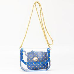 Fashion Women Peacook Blue Clutches Suitable For Work, Concert, Sports Event