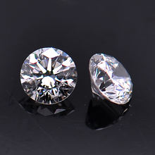 Forever Star Factory Price Wholesale Super White DEF VVS EX 6.5mm 1 carat Diamond Cut Moissanite Loose Stone