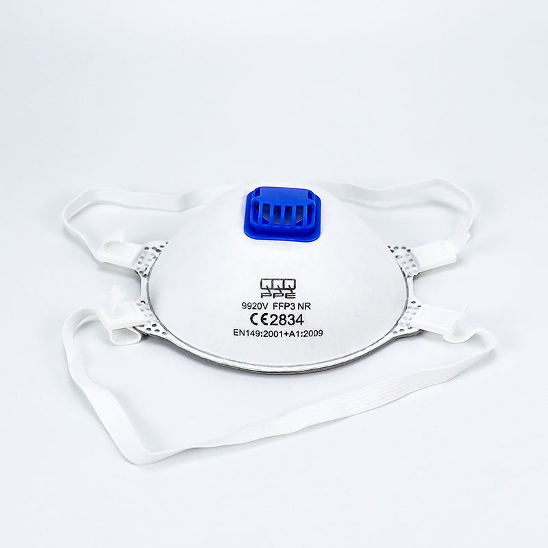 Stock manufacturer face mask disposable respirator FFP3 CE EN 149 2001 mask